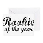 Rookie Of The Year Greeting Cards (Pk of 10)