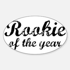 Rookie Of The Year Oval Decal