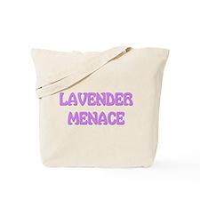 Lavender Menace Tote Bag