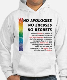 No Apologies Jumper Hoody