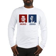 Obama Hero or Zero Long Sleeve T-Shirt