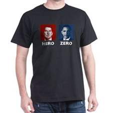 Obama Hero or Zero T-Shirt