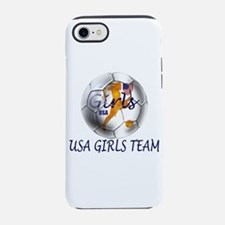 USA Girls Team iPhone 7 Tough Case