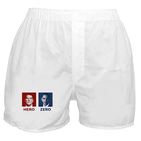 Obama Hero or Zero Boxer Shorts