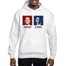 Obama Hero or Zero Hoodie