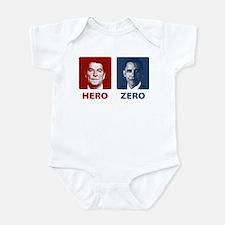 Obama Hero or Zero Infant Bodysuit