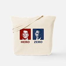 Obama Hero or Zero Tote Bag