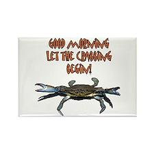 Let the Crabbing begin! Rectangle Magnet (100 pack