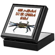 Let the Crabbing begin! Keepsake Box