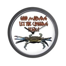 Let the Crabbing begin! Wall Clock