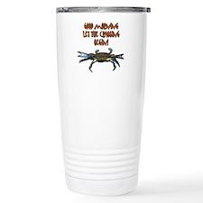 Let the Crabbing begin! Travel Mug