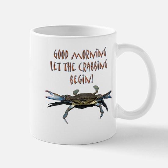 Let the Crabbing begin! Mug