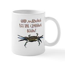 Let the Crabbing begin! Small Mug