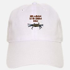 Let the Crabbing begin! Baseball Baseball Cap