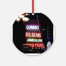 Neon Gumbo Ornament (Round)