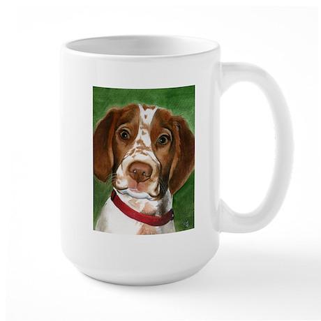 Brittany Puppy Love Large Mug