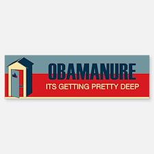 Obamanure Bumper Bumper Bumper Stickers Bumper Bumper Bumper Sticker