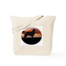 Belgian Tervuren Sunset Tote Bag