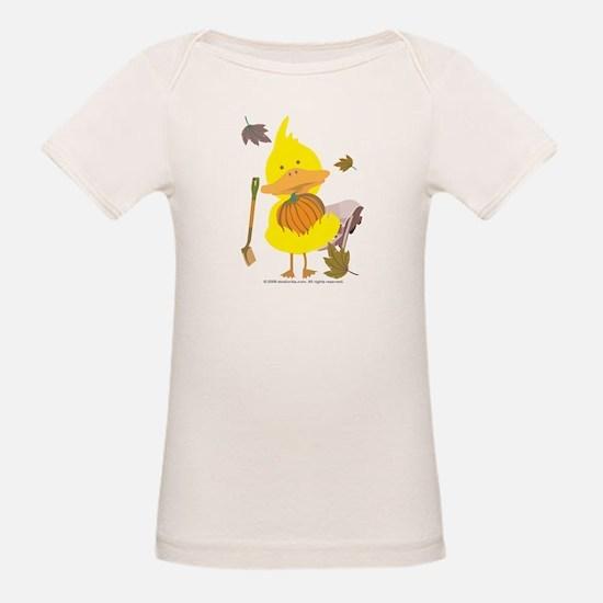 6x6_duck_fall_no_bg T-Shirt