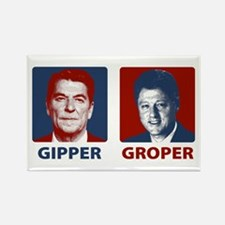 Gipper or Groper Rectangle Magnet
