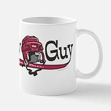 Hockey Guy Helmet Mug
