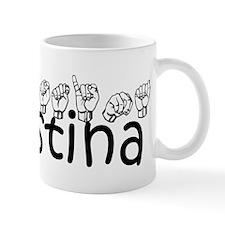 Christina-blk Mug