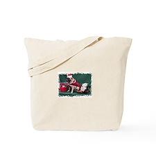 PUG CHRISTMAS STAMP LOOK Tote Bag