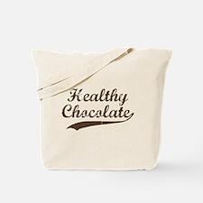 Healthy Chocolate Tote Bag