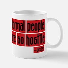 Dexter Quote Normal People Mug