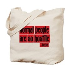 Dexter Quote Normal People Tote Bag