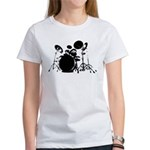 give the drummer some Women's T-Shirt