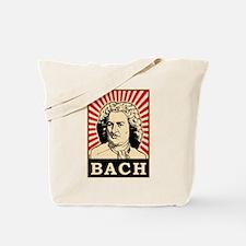 Pop Art Bach Tote Bag