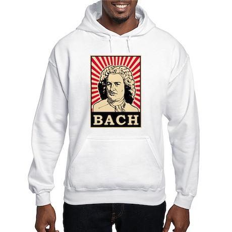 Pop Art Bach Hooded Sweatshirt