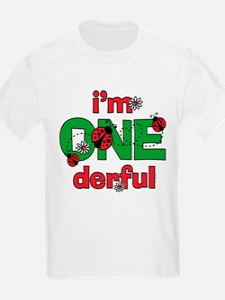 ONEderful Ladybug Birthday T-Shirt