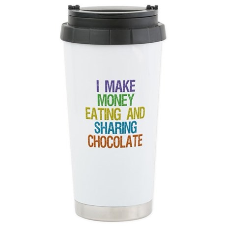Make Money Stainless Steel Travel Mug