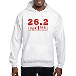 26.2 never again Hooded Sweatshirt