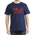 26.2 never again Dark T-Shirt