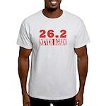 26.2 never again Light T-Shirt