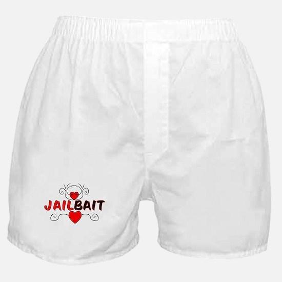 Jail Bait Boxer Shorts