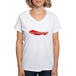 mrs. robinson Women's V-Neck T-Shirt