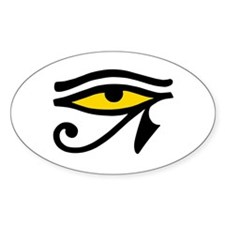 Sacred Eye Oval Decal