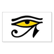 Sacred Eye Rectangle Decal