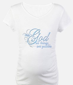 With God All Things are Possi Shirt