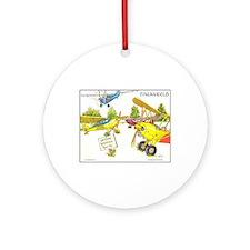 Aeroncas Welcome Ornament (Round)