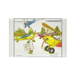 Aeroncas Welcome Rectangle Magnet (10 pack)