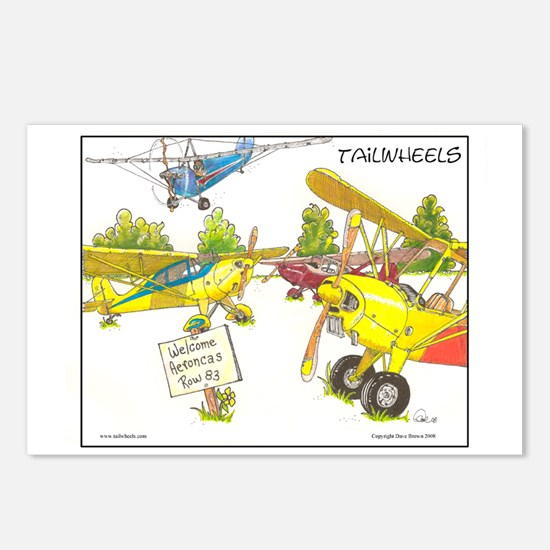 Aeroncas Welcome Postcards (Package of 8)