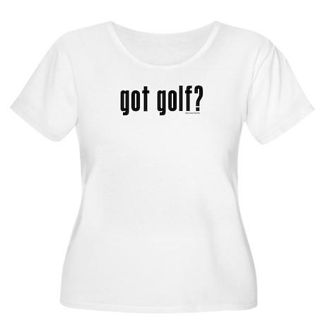got golf? Women's Plus Size Scoop Neck T-Shirt