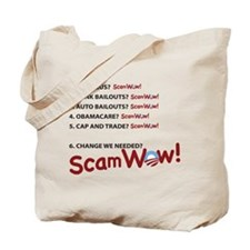 ScamWow List Tote Bag