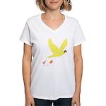bombs away Women's V-Neck T-Shirt