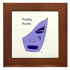 Fuzzy Funk Mask Framed Tile